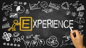 Experience is the E of Education!