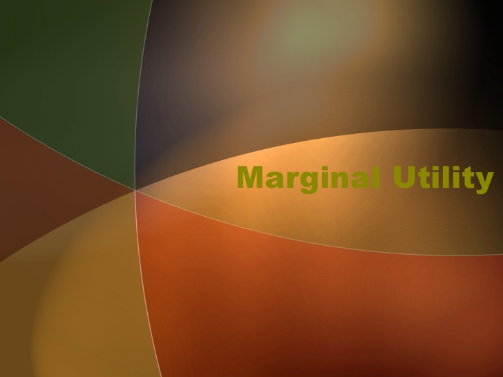 Law of Diminishing Marginal Utility vs. Law of Equi – Marginal Utility