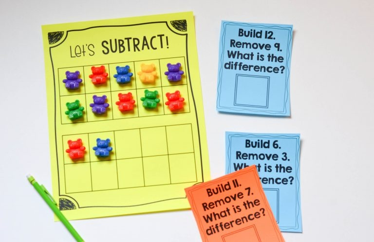 Concept of Subtraction- some strategies